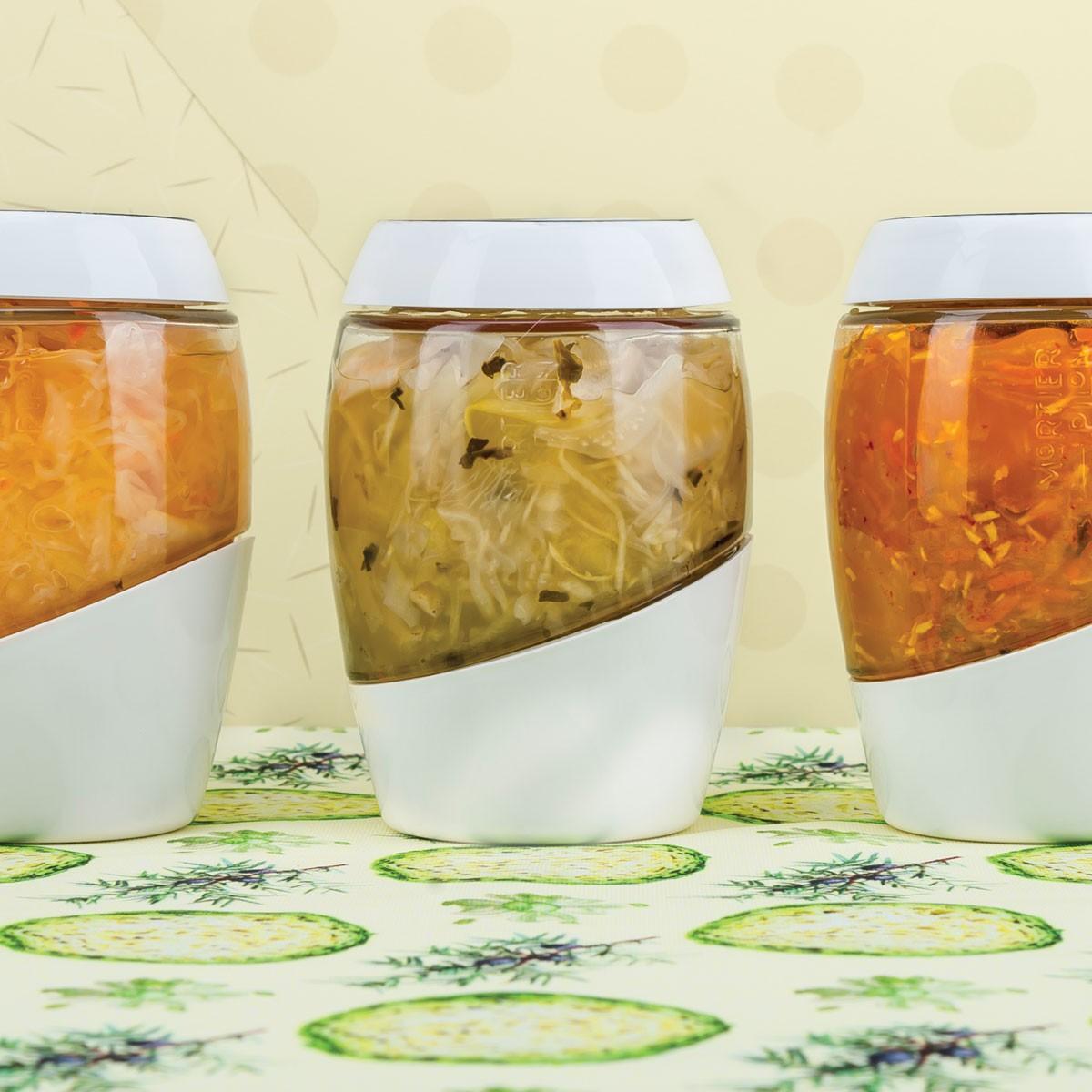mortier pilon fermentation