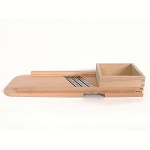 S.C.T. Large Wooden Cabbage Shredder