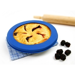 NORPRO-Silicone Pie Crust Shield-Blue
