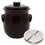 S.C.T-2.5L Brown Fermenting Crock