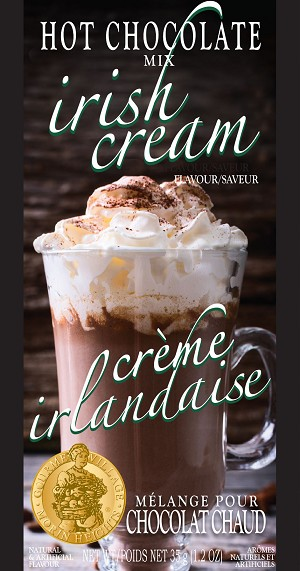 Gourmet du Village-Irish Cream Hot Chocolate Mix